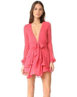 Tarta Long Sleeve Mini Dress