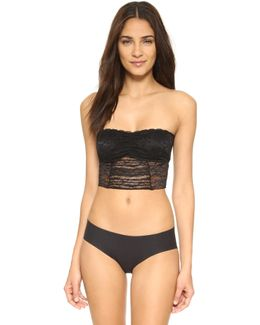 Galloon Lace Crop Bra