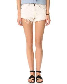 Soft & Worn Relaxed Cutoff Shorts