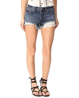 Daisy Chain Lace Shorts