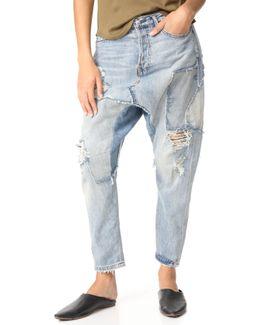 Blazing Summer Harem Jeans
