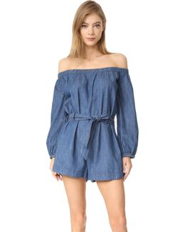 Tangled In Willows Romper