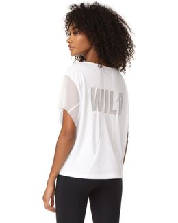 Movement Wild Mesh Graphic Tee