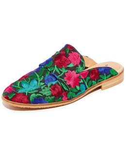 At Ease Brocade Loafers