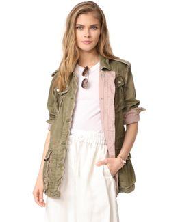Double Cloth Military Jacket