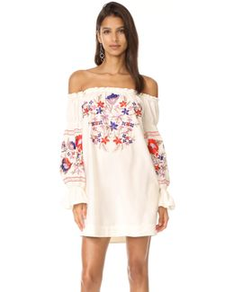 Fleur Du Jour Mini Dress