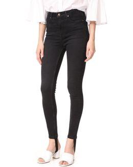 Denim Stirrup Jeans