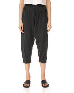 Easy Knit Harem Pants