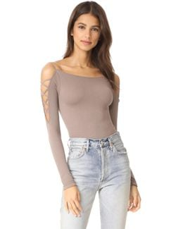Cross Shoulder Top