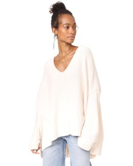 Take Over Me V Neck Sweater