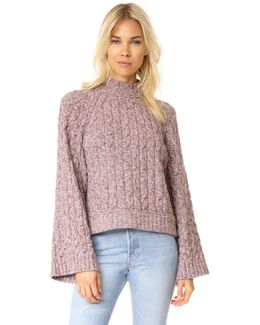 Snow Bird Sweater Pullover