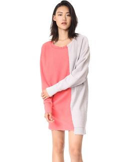 Coloring In Pullover Sweatshirt Dress