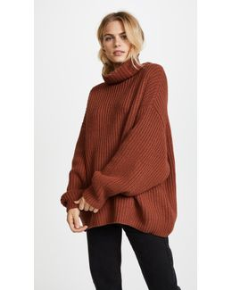 Swim Too Deep Pullover Sweater