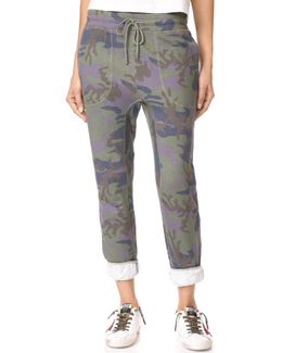 Printed Camo Scout Joggers