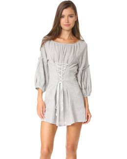 Corsette Mini Dress
