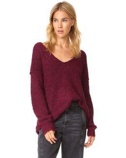 Lofty V Neck Sweater