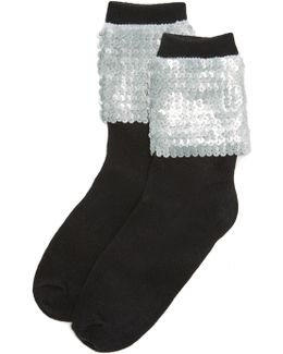 Ziggy Sequin Socks