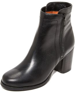 Addie Double Zip Booties