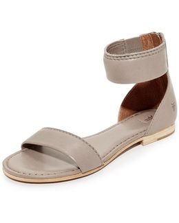 Carson Ankle Zip Sandals