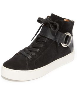 Lena Harness High Top Sneakers