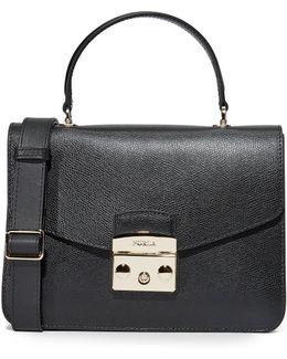 Metropolis Small Top Handle Bag