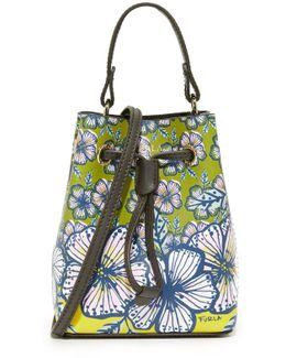 Printed Stacy Mini Drawstring Bag