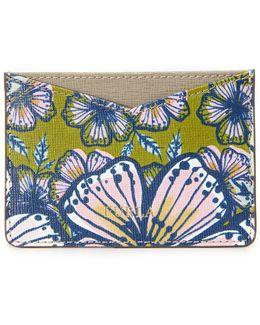 Printed Gioia Card Holder
