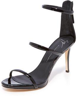 Alien Sandal Heels