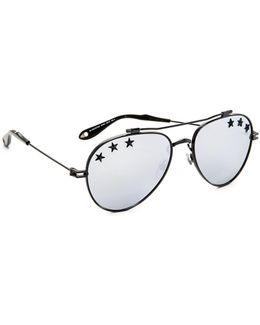 Stars Aviator Sunglasses