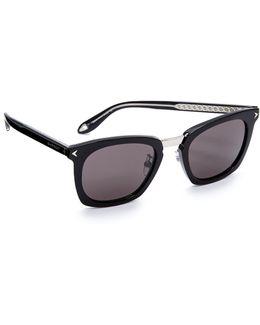 Universal Fit Star Square Sunglasses