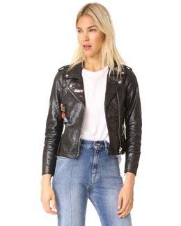Mini Chiodo Leather Jacket