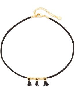 Miller Tassel Choker Necklace