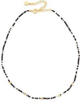 Marlow Beaded Choker Necklace