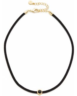 Fairfax Gemstone Choker Necklace