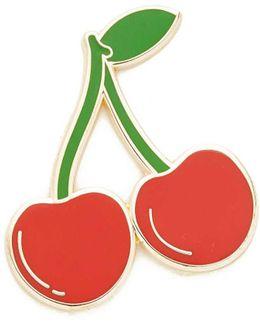 Ripe Cherries Pin