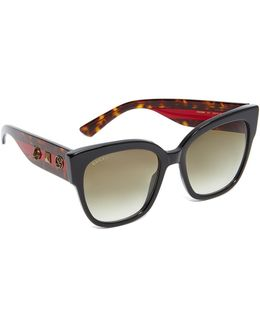 Oversized Tiger Sunglasses