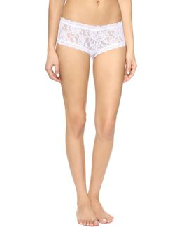Signature Lace Boy Shorts