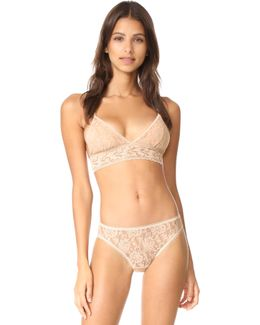 Signature Lace Padded Bralette