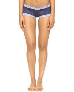 Heather Jersey Boy Shorts