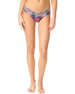 Bermuda Nights Low Rise Thong