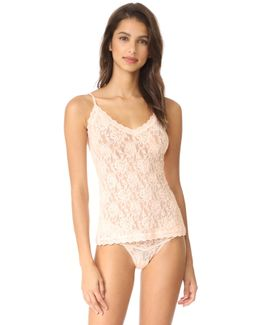Signature Lace V Front Cami