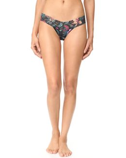 Moody Blooms Low Rise Thong