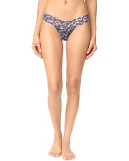 Mysterious Feline Low Rise Thong