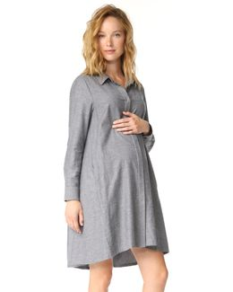 Maggie Flannel Dress