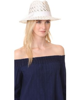 Lacy Fedora Hat