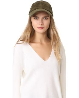 Suede Baseball Hat