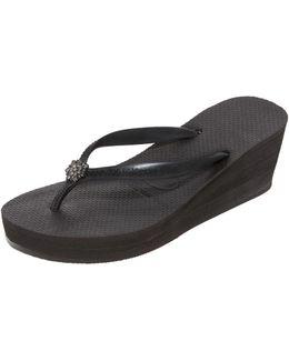 High Fashion Poem Wedge Sandals