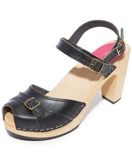Preppy Sky High Sandals