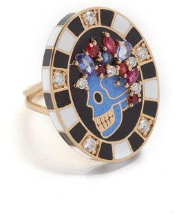 Saturday Enamel Ring