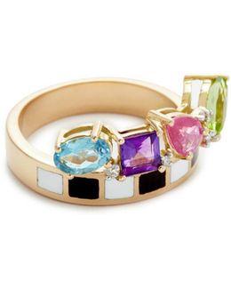 Go Lightly Enamel Ring